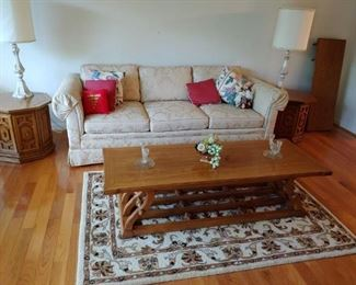Sofa/Coffee and End Tables