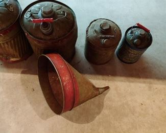 Galvanized Gas Cans