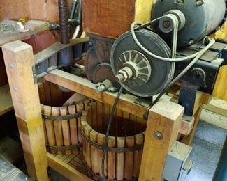 Motorized Cider Press