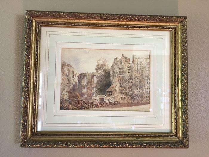 more framed artwork