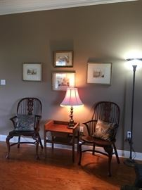Pair of Windsor chairs, really great condition!