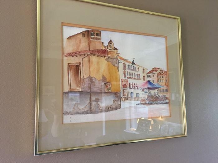 more original watercolor artwork
