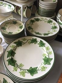 Fransiscan ironstone, lots of dishes and serving pieces!