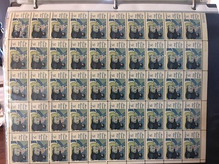 Mary Cassatt American Artist 5 cent stamp