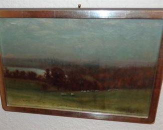 "Nicholas Brewer; ""Mc Carrons Lake""; dated 1880"