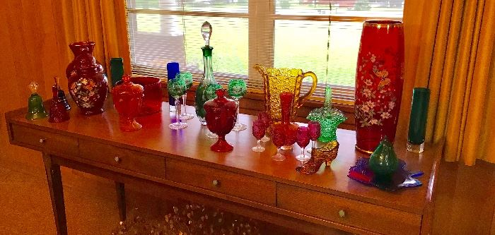 40's, 50's, 60's glass