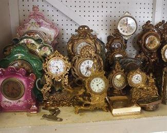 Clocks f
