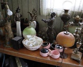 Lamp parts, Figures