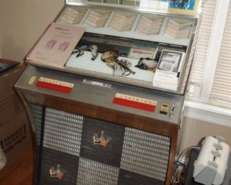 1961 Seeburg Select-O-Matic AY100 Jukebox, plays songs but currently only odd-numbered selections - $800 obo