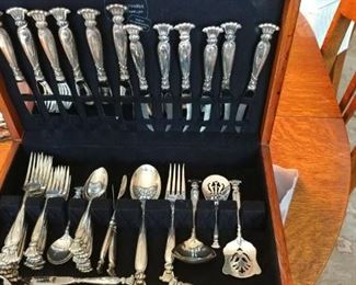 Romance of The Sea  sterling flatware by Wallace