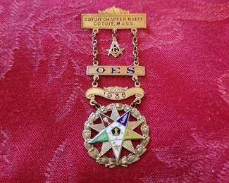 Masonic Lodge badge in 10k...1938
