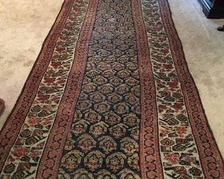 Persian rug runner.