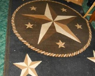 The Lone Star rug!