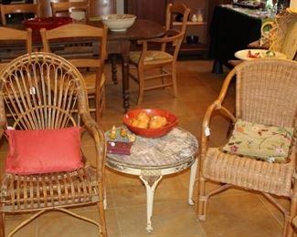 furniture rattan chairs