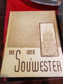 Old Southwestern University Year Books