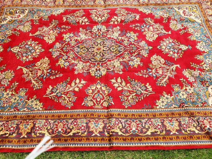 Beautiful Hand Knotted Persian Rug 11x7