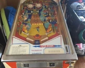 "D. Gottlieb Co ""300"" pin ball machine"
