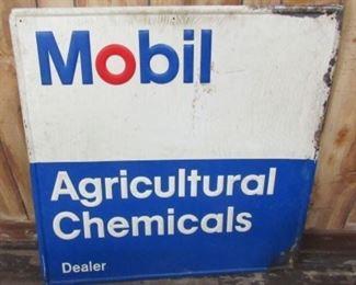 """36"""" Metal Mobil Sign"""