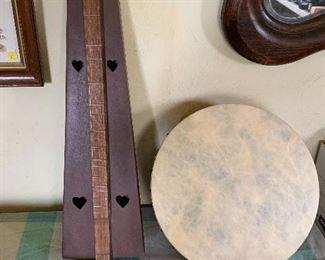 Folk music instruments