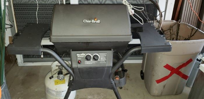 Char broil quickset grill