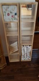 Hand crafted cabinets