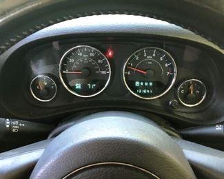 2013 Jeep Wrangler; 4-Door; Right-Hand Drive; 131,641 miles