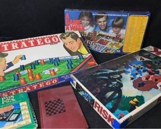 B003 Vintage Board Games