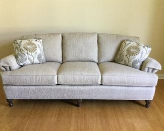 Nice Smith Brothers of Berne sofa with gorgeous nail trim