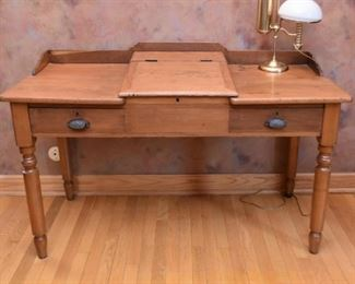 Antique Schoolmaster's Desk
