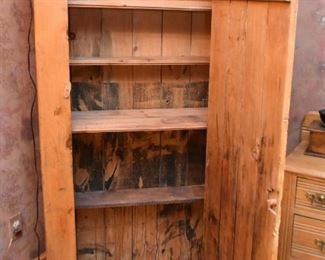 Primitive Cupboard / Jelly Cabinet (front decorative piece is easily removable)