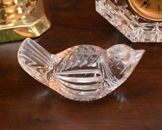 Waterford Crystal Bird Figurine / Paperweight