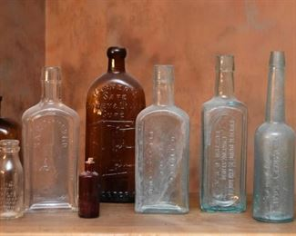 Antique / Vintage Glass Bottles