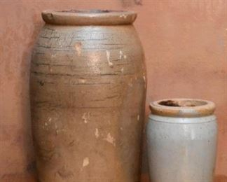 Stoneware Crocks & Jars