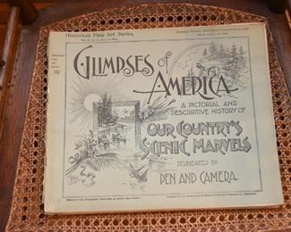 Glimpses of America Book (Pictorial & Descriptive History)