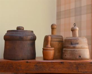 Collection of Butter Molds