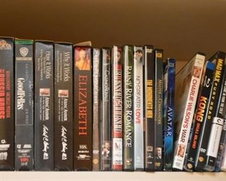 DVD's & VHS Tapes