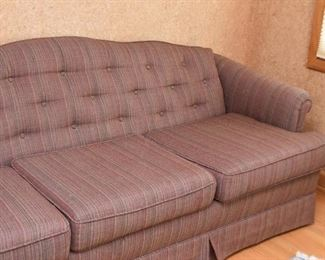 3-Seat Sofa with Tufted Back
