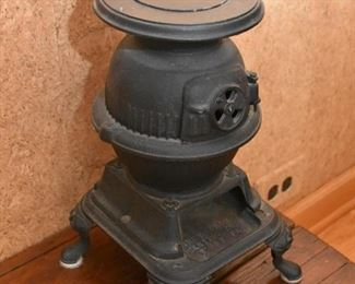 Miniature Cast Iron Wood Burning Stove