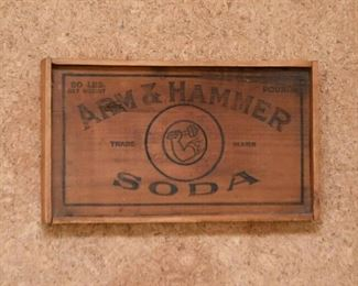 Arm & Hammer Soda Crate Top Wall Hanging