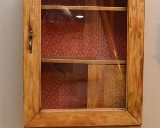 Primitive Curio / Display Cabinet