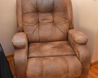 Leather Motorized Recliner