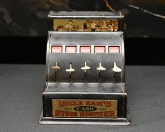 Uncle Sam's Store Cash Register (Vintage Toys)