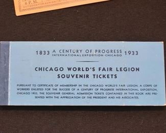 Chicago World's Fair - A Century of Progress