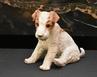 Royal Crown Terrier Dog Figurine