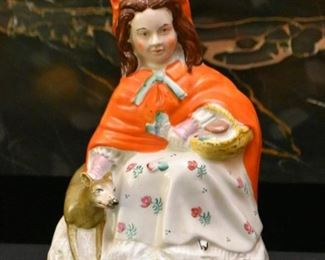 Staffordshire Little Red Riding Hood