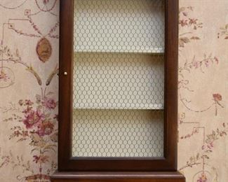 Slim Wall Curio / Display Cabinet