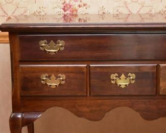 Traditional Queen Anne Style Sideboard / Buffet