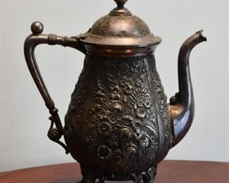 Antique / Vintage Metalware Teapot
