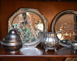 Silver Plate Serving Pieces