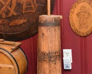 Wooden Butter Churn (2 of 2)